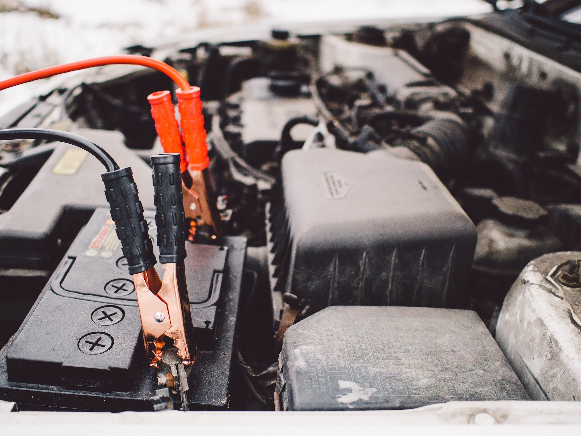 changing a battery & checking car electric system