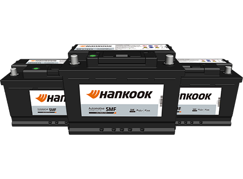 Hankook AtlasBX – Automotive, MF battery, power support, X-Frame Technology, High Durability Plate Technology delivers longer service life