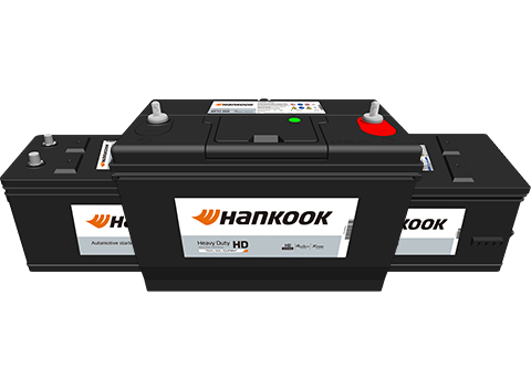 Hankook AtlasBX – Commercial battery, AGM / MF, Truck · bus battery, Stable power supply with Advanced Long-Life Control Technology