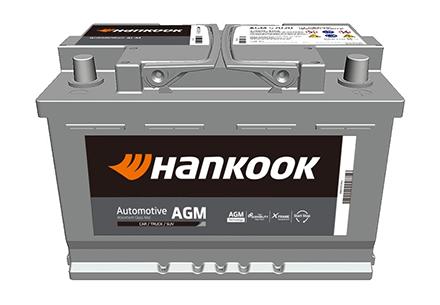 Hankook AtlasBX – Car Battery, Automotive AGM battery, Absorbent Glass Mat technology