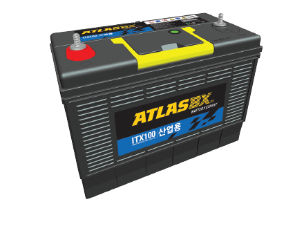 Hankook AtlasBX – Industrial Battery, 12V MF battery, ITX, Battery for UPS, incoming and distribution panel facilities, mechanical equipment
