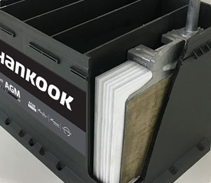 Hankook AtlasBX – Automotive, AGM Technology, AGM Battery, European-cover design