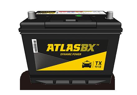 한국아트라스비엑스, Hankook AtlasBX – 차량용 배터리, 택시용 TX 배터리