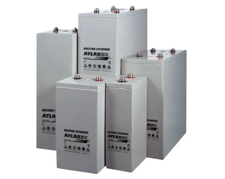 한국아트라스비엑스, Hankook AtlasBX – 산업용 배터리, 2V AGM, KBX