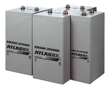 한국아트라스비엑스, Hankook AtlasBX – 산업용 배터리, 2V AGM, KSR