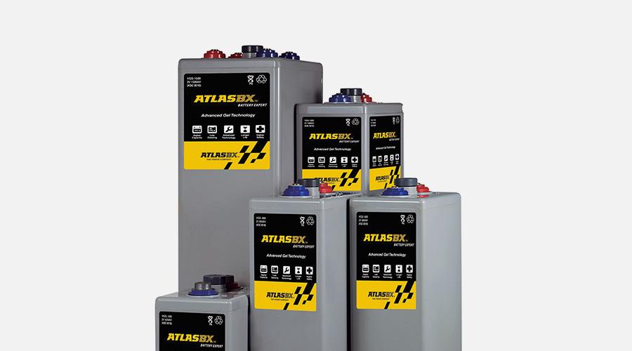 한국아트라스비엑스, Hankook AtlasBX – 산업용 배터리, 2V GEL